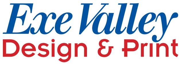 Exe Valley Design and Print logo