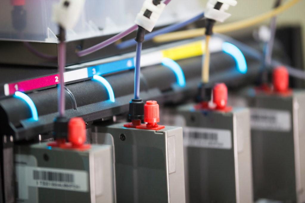 CMYK rgb printer