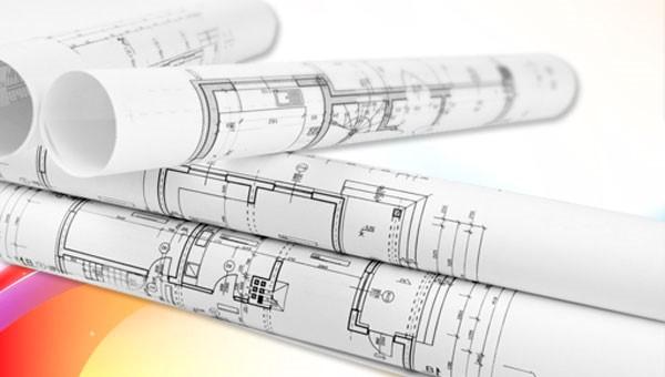 Printed Building Plans