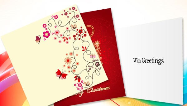Custom Printed Greetings Cards